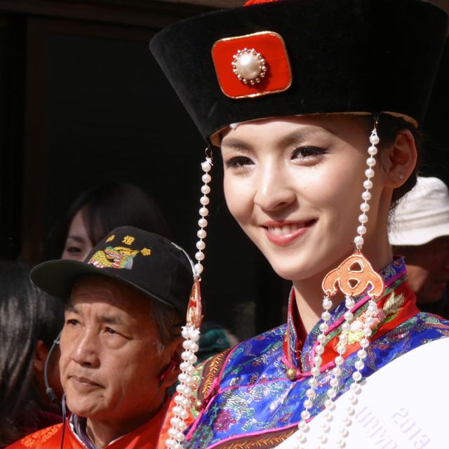 皇帝パレードにて:長崎市築町