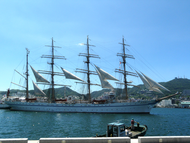 Side View of Nippon Maru