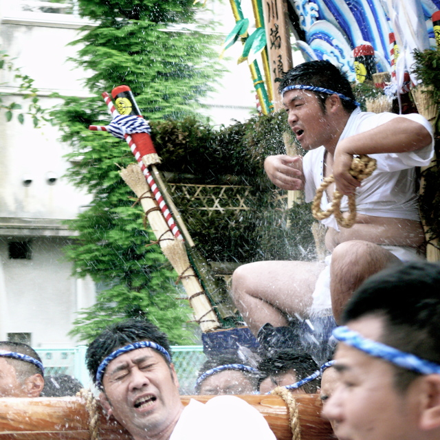 Splash time today : Hakata Gion Yamakasa