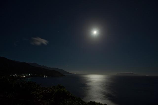 屋久島・月光