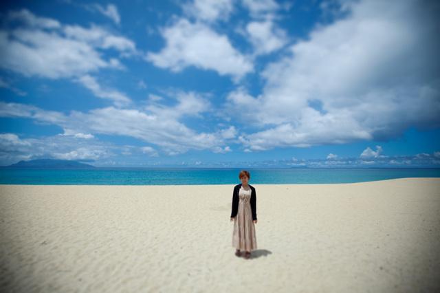 屋久島・いなか浜にて