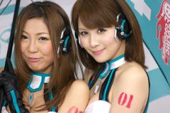 AYAMIさんと立花サキさん