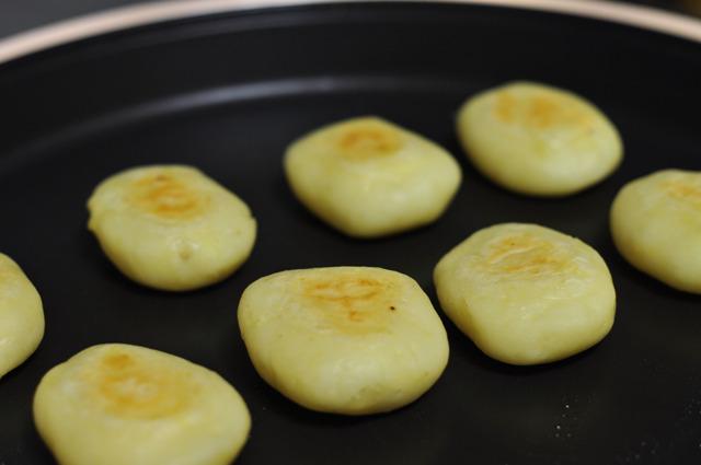 ジャガイモのお焼き。
