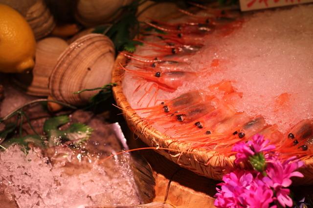 魚市場食堂 リアルなメニューサンプル