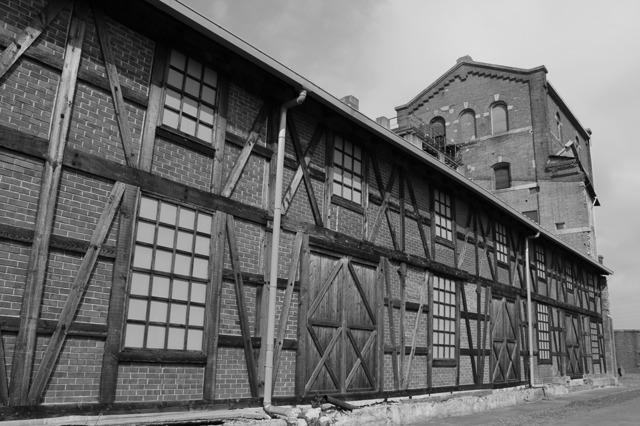 幻のカブトビール工場 全景