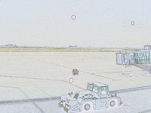 神戸空港スケッチ