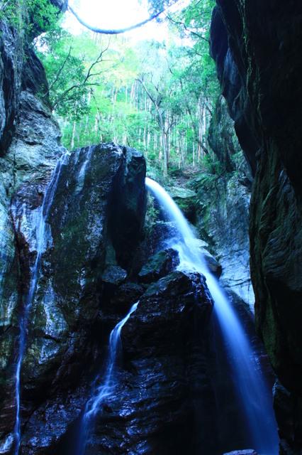 飛龍の滝。