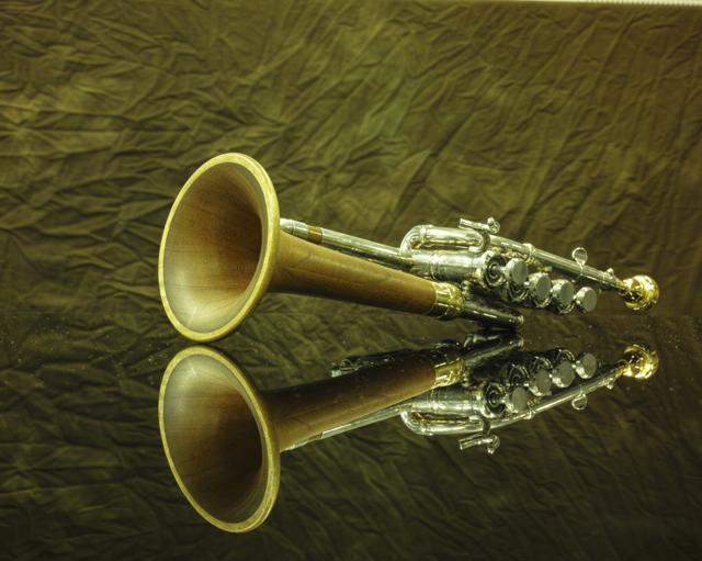 Piccolo Trumpetのカタログみたいに撮れました(爆)
