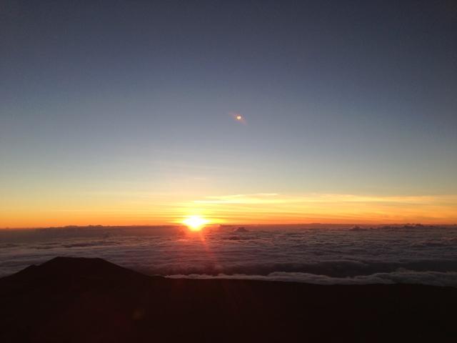 マウナケアの朝日