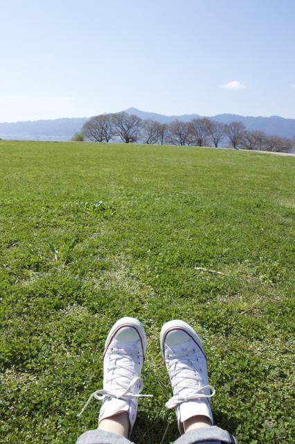 気持ちいい春の日