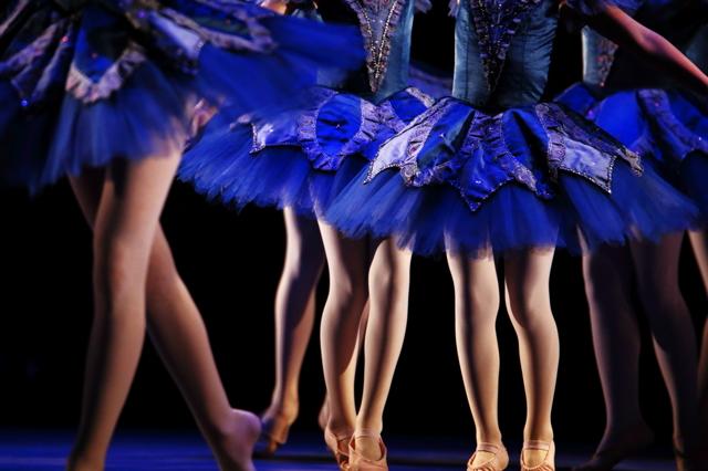 青きちいさなバレエ・ダンサー