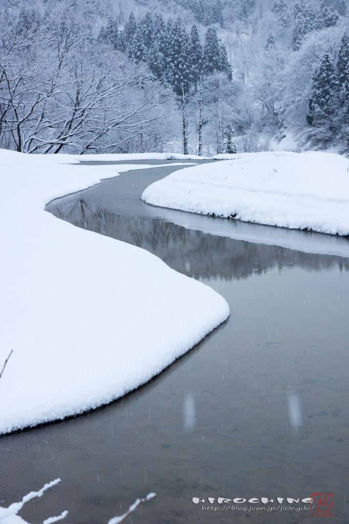 冬が通る道