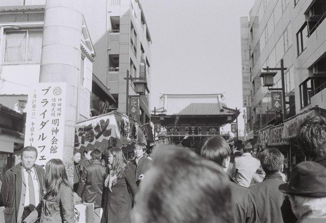 MINOLTA(ミノルタ)のカメラ ライツミノルタ CLで撮影した(神田明神初詣)の写真(画像)