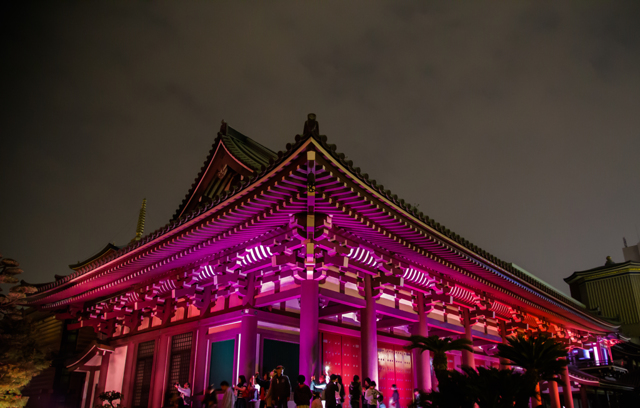 東長寺「博多ライトアップウォーク2013 博多千年煌夜」