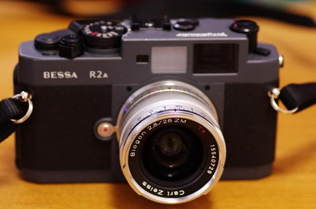 BESSA R2A + Carl Zeiss Biogon T* 28mm F2