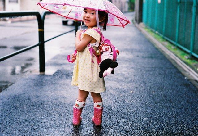 LEICA(ライカ)のカメラ M4で撮影した人物(梅雨)の写真(画像)