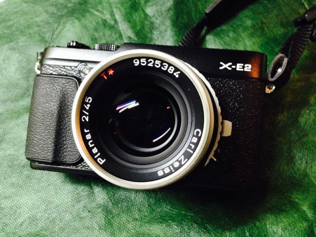 X-E2 + Planar T*45mmF2の画像(写真)