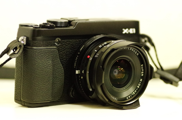 Fujifilm X-E1 + SWH 15mm IIの画像(写真)