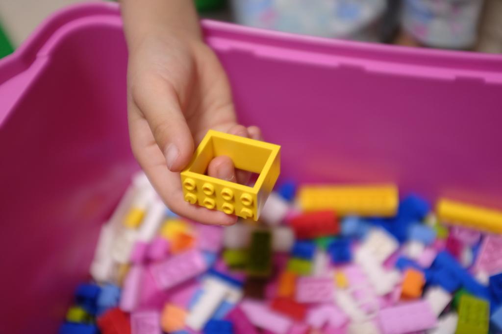 レゴ/ピンクのバケツ