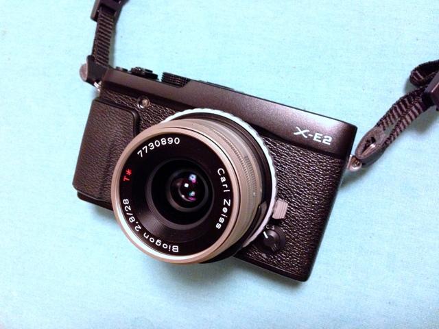 X-E2 + Biogon T*28mmF2.8の画像(写真)