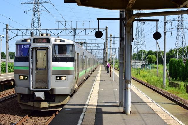 函館本線。