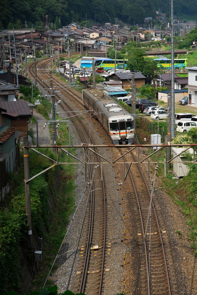 奈良井宿 中央本線