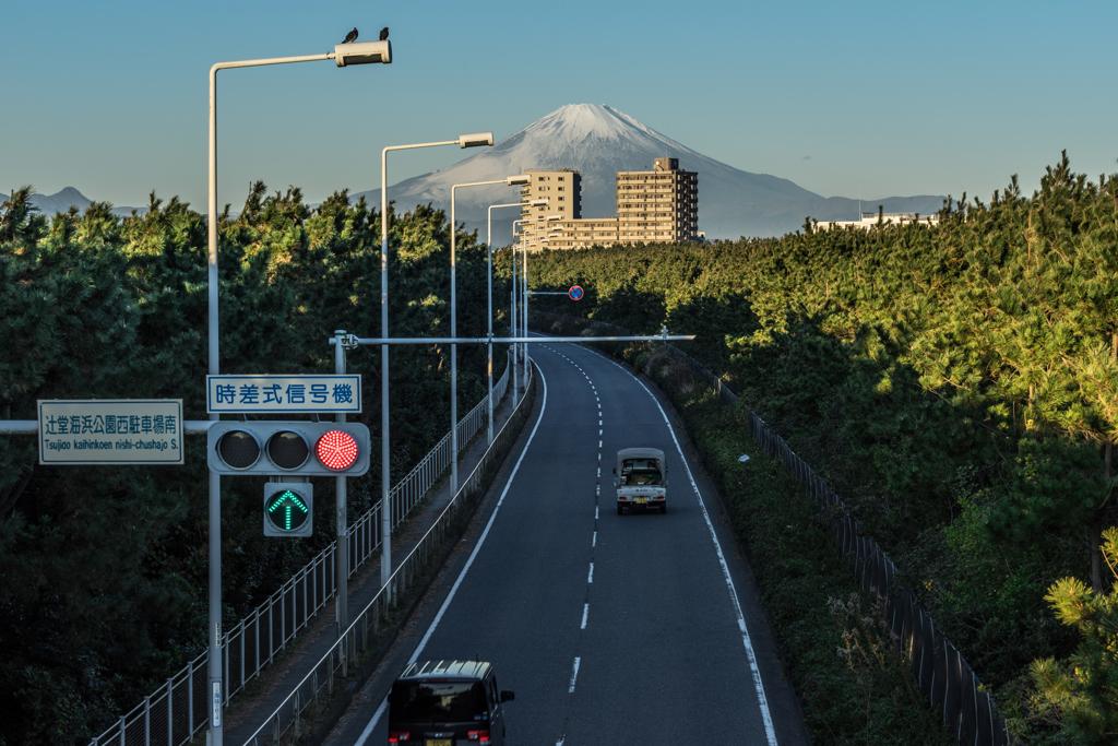 辻堂の歩道橋