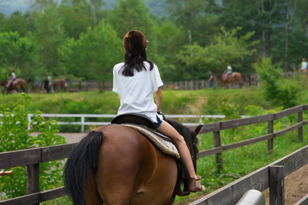 木曽 馬の里