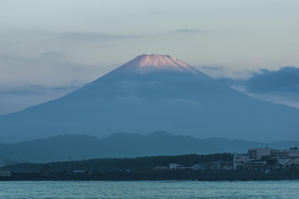 早朝富士山
