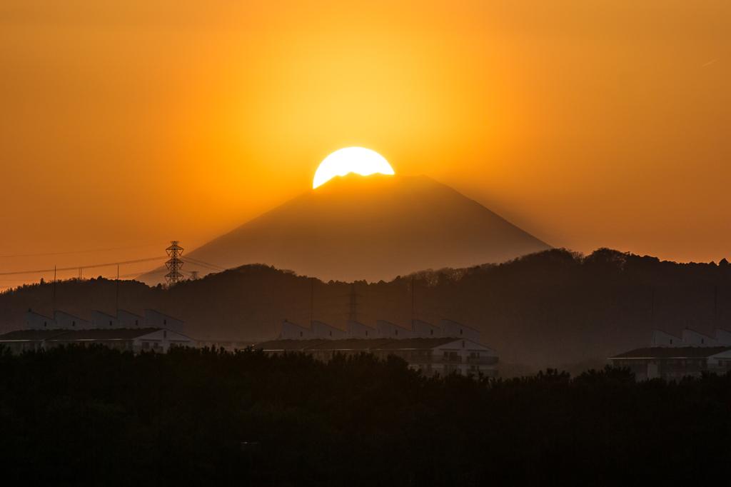 2015/3/28 八景島からのダイヤモンド富士