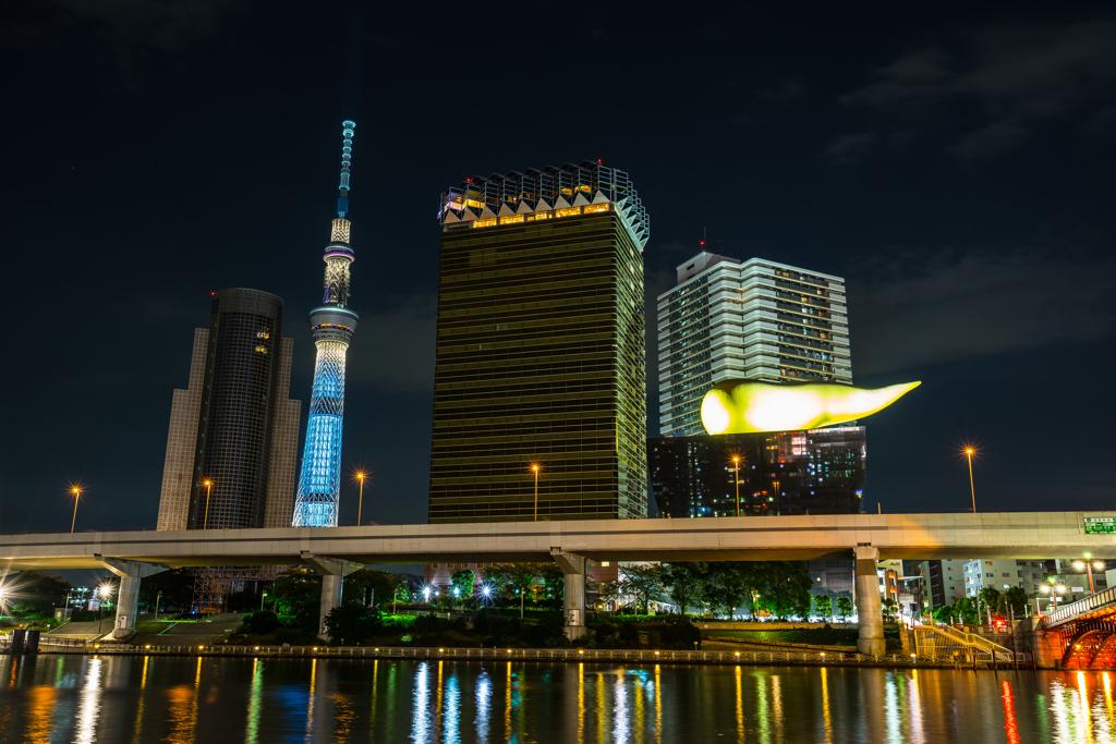 浅草の基本的な夜景