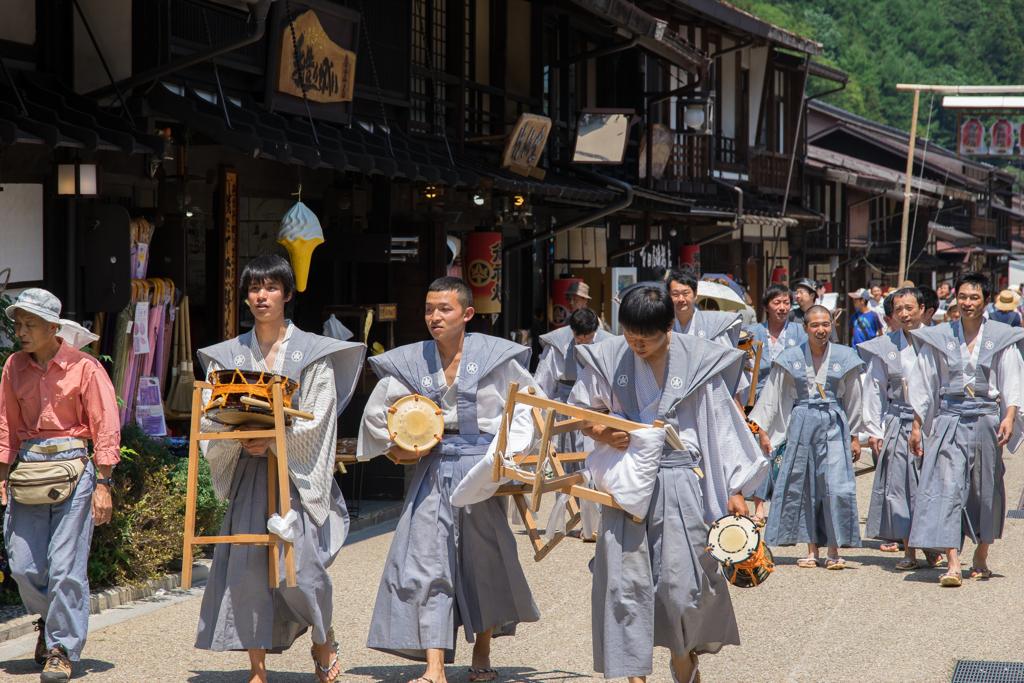 奈良井宿散策