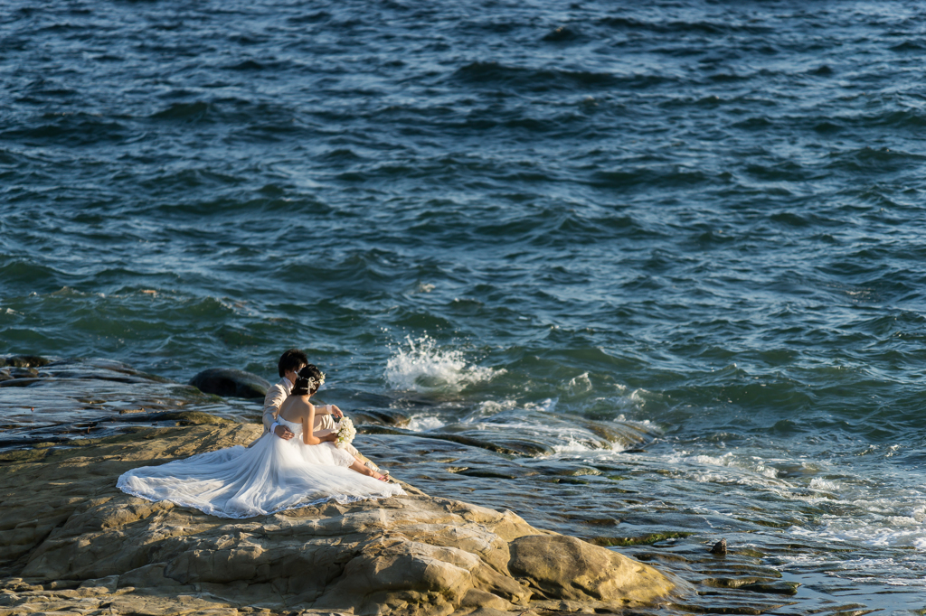 稲村ヶ崎の花嫁