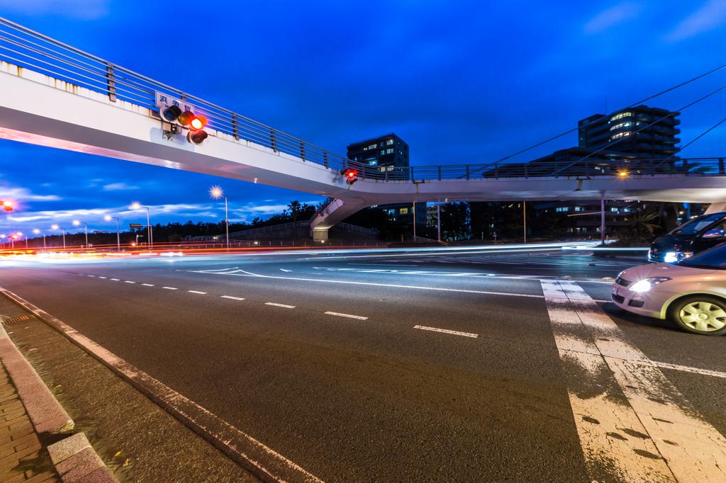 国道134号線 浜須賀歩道橋