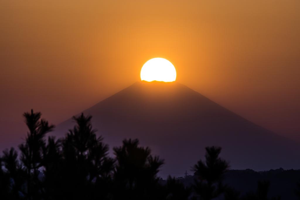 2015/03/30 野島展望台からのダイヤモンド富士