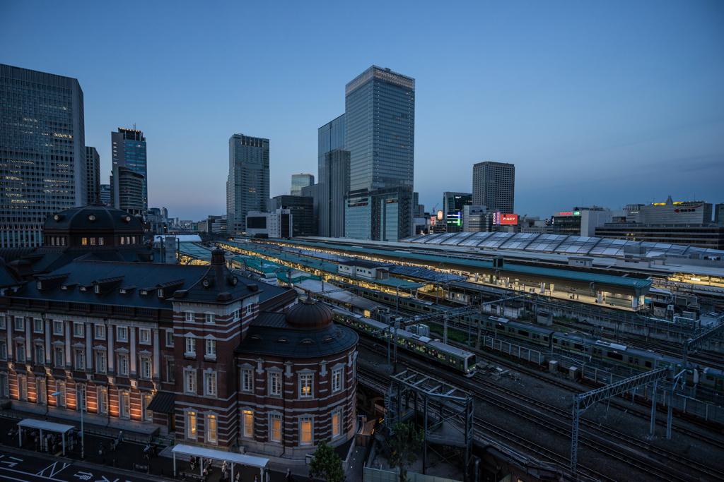 日没東京駅