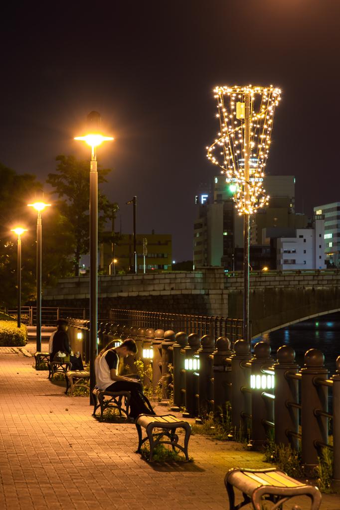 みなとみらいの街灯