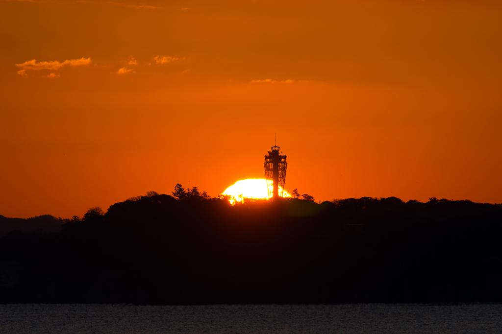 江ノ島日の出