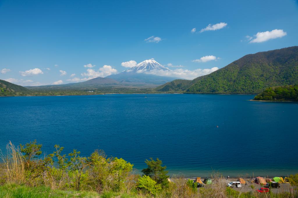 千円札の本栖湖