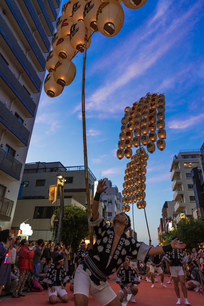 浅草 竿燈祭り