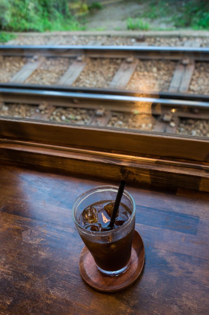 カフェ ヨリドコロのカウンター席