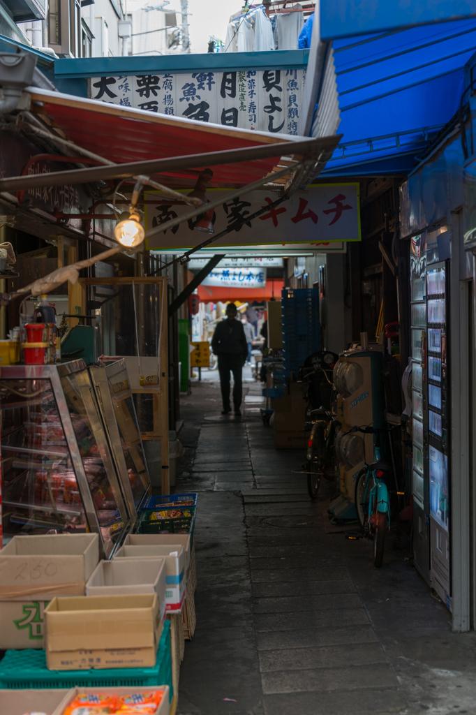 横浜橋商店街 路地裏