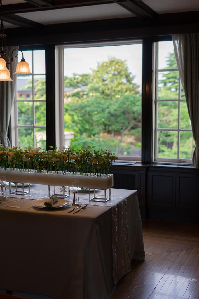山手西洋館 花と器のハーモニー