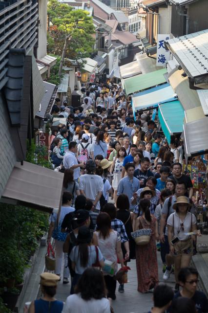 2015-07-11 江ノ島 人多すぎ