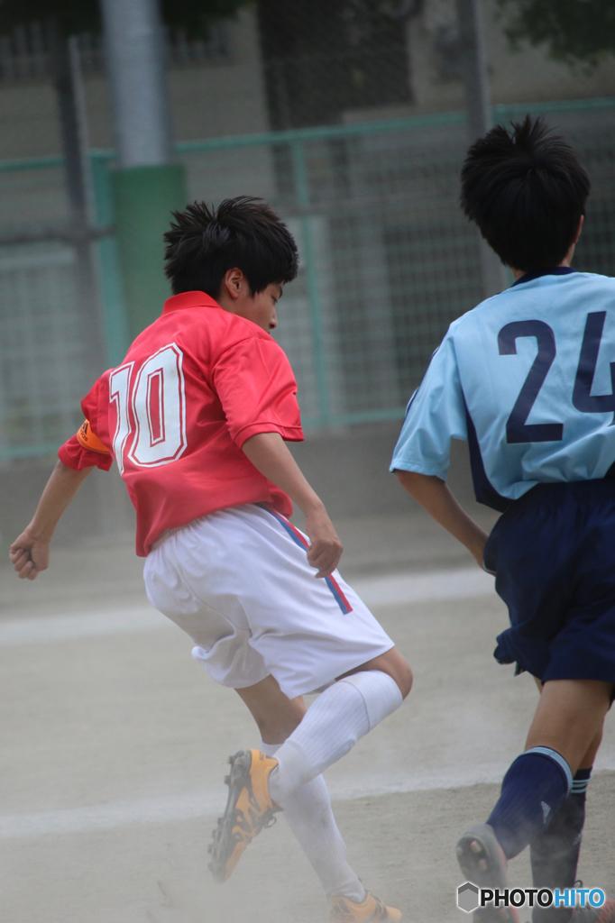 中学サッカー 夏の大会