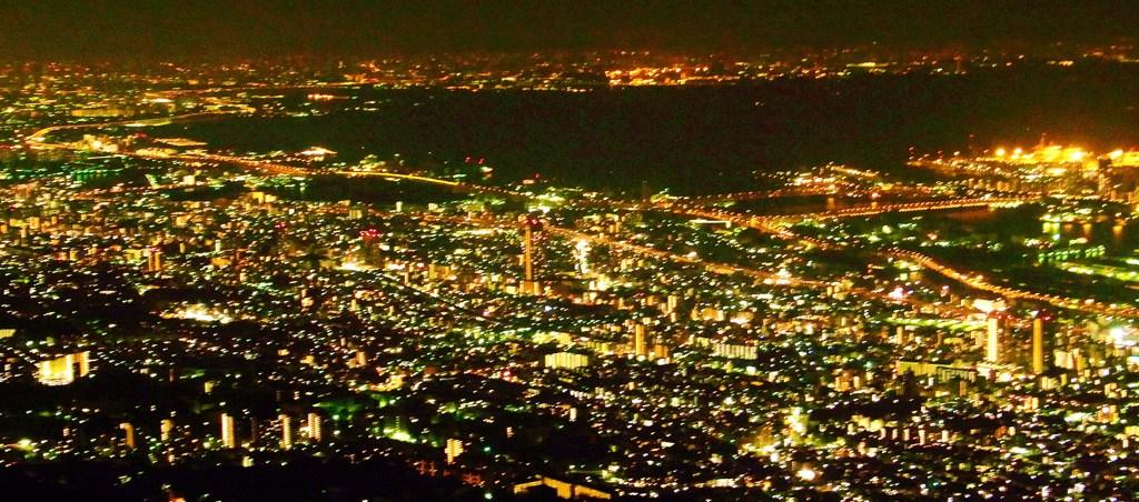 六甲のおいしい夜景2