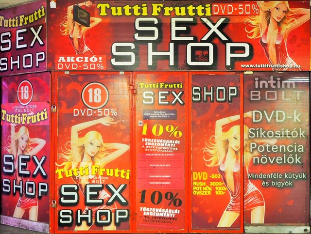 『今昔写真集異朝世俗部風俗編』Tutti Frutti SEX SHOP by 企迷羅鼠(kimera) (ID