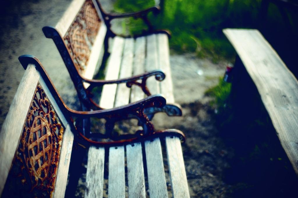 時々、風が座るベンチ