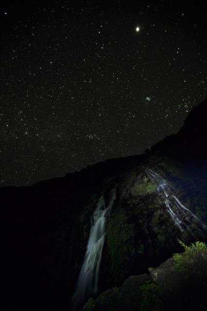 屋久島・満天の星空と大川の滝      Twitterでつぶやく