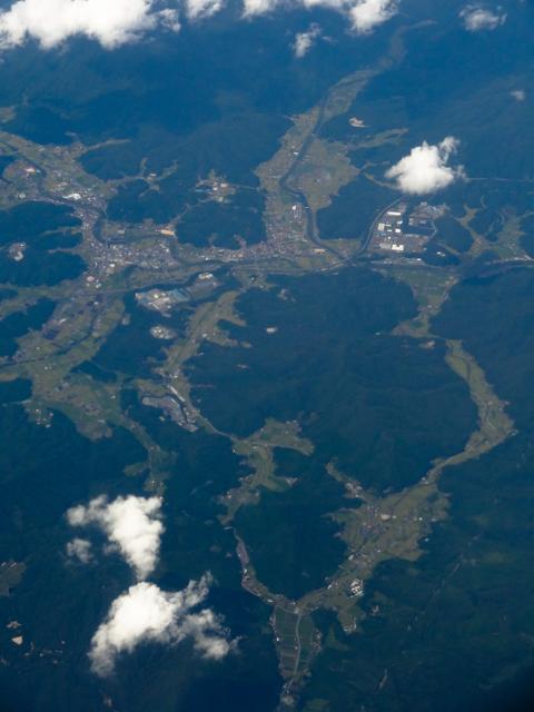 空から見た風景